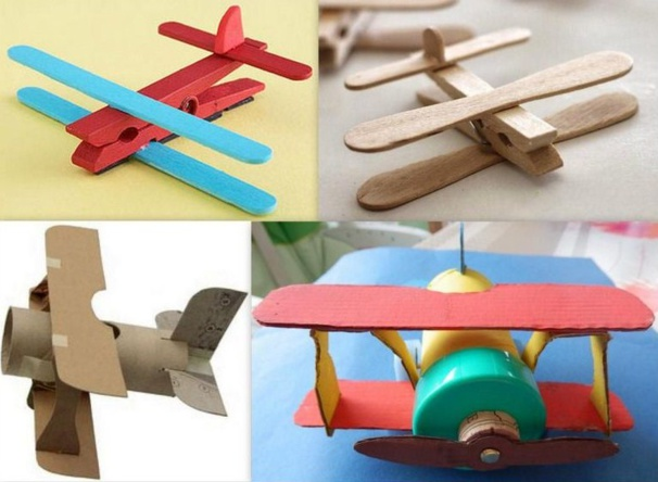 fabriquer de petits avions avec de la r cup les tutos page 2. Black Bedroom Furniture Sets. Home Design Ideas