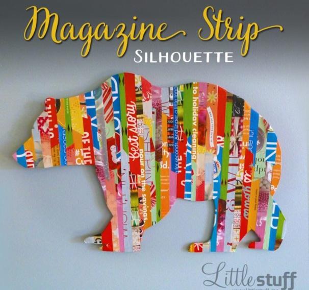 Recycler ses vieux magazines en Strip Art Magazine