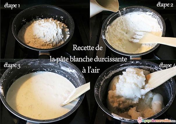 Faire soi même sa pâte durcissante, la recette