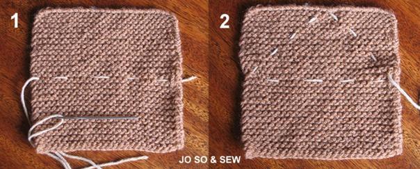Tricoter un lapin doudou laine, tuto vidéo et tuto images
