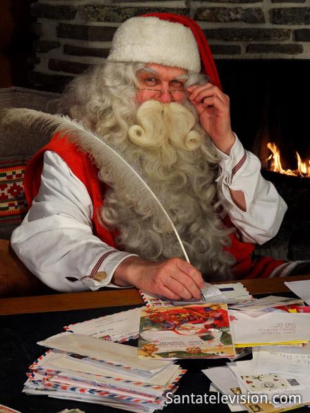 Message du Père Noël