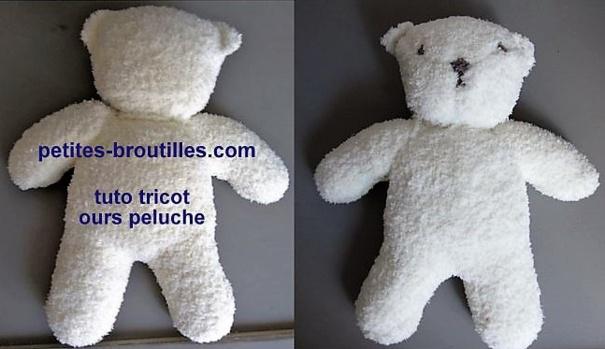 Tricoter un ours peluche, modèles et tuto
