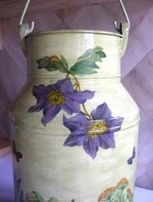 Idées de décoration pour Pots à Lait..