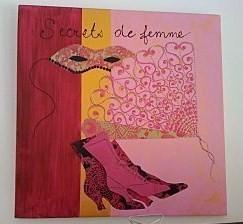 """34 tabeaux Home déco réalisés par """"Les créatives"""".."""