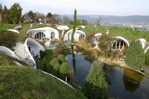 Maison de ceux  qui vivent sous terre !