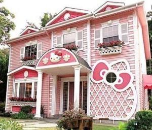 C'est donc là qu'habite Hello Kitty....whaouuuu !