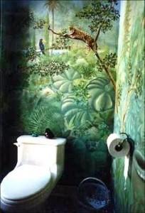 ambiance tarzan en pleine jungle