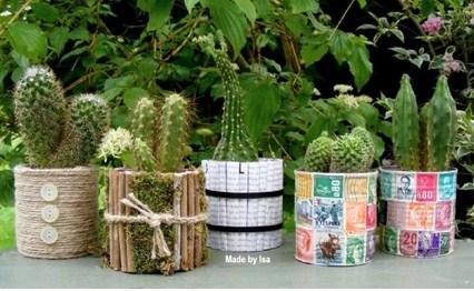 D co jardin boite de conserve - Recycler des boites de conserves ...