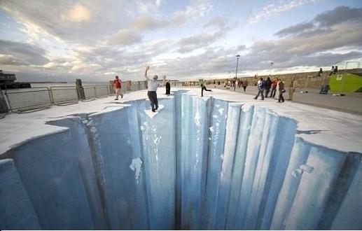 des glaciers plus vrais que nature..