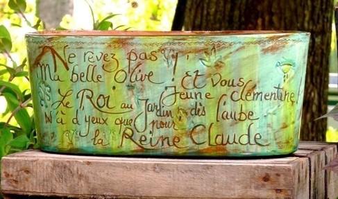 Des poteries pleines de poésie !