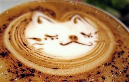 Des cafés crème artistiquement insolites !