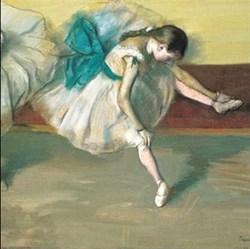 Danseuse au repos - Degas