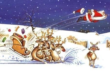 """Dessins humoristiques """"Père Noël"""".."""