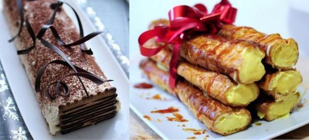 11 recettes de Bûches de Noël !
