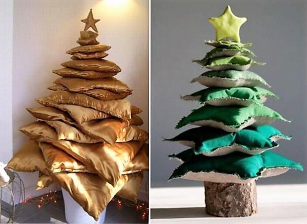 Sapins Noël 100 % coussins