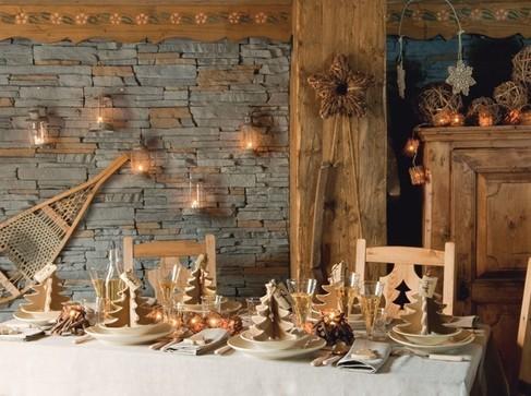 20 pr sentations de table de no l - Decoration de noel naturel ...