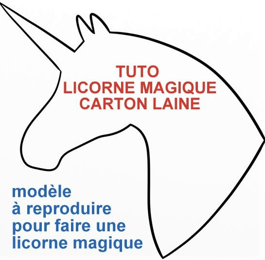 TUTO faire une licorne magique