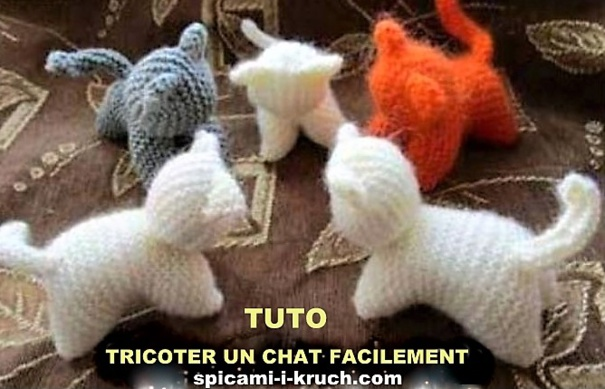 3 TUTOS Faire un chat en laine