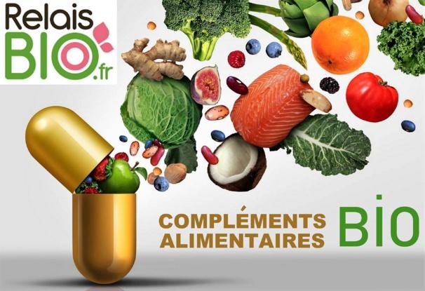 Compléments alimentaires biologiques pour être en bonne santé