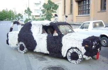 la voiture doudoune..
