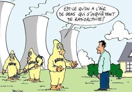 Dessins drôles : le nucléaire !