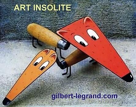 Les créations de Gilbert Legrand