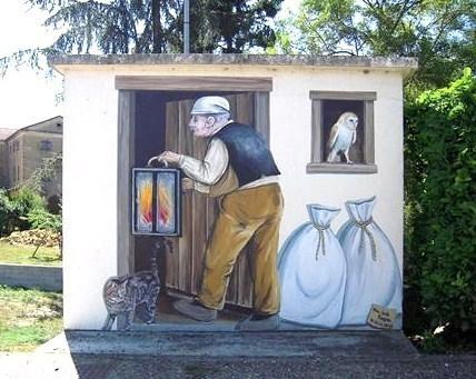 Fa ades de maison insolites une d co d 39 enfer for Decoration du facade orleans