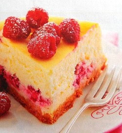 Recette Cheesecake aux framboises !