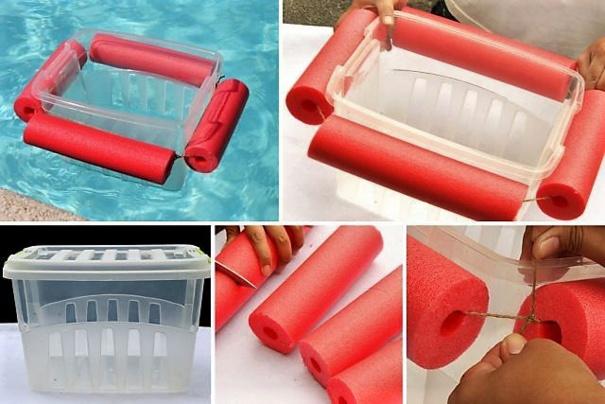 Astuces pour nouilles de piscine ou boudins en mousse