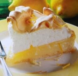 Fiche cuisine : Tarte au citron meringuée !