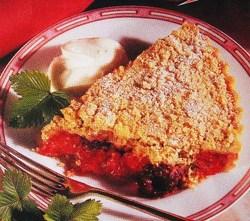 Fiche cuisine : Crumble aux baies rouges !