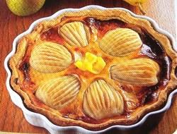 Fiche cuisine : Tarte aux poires et fromage blanc !