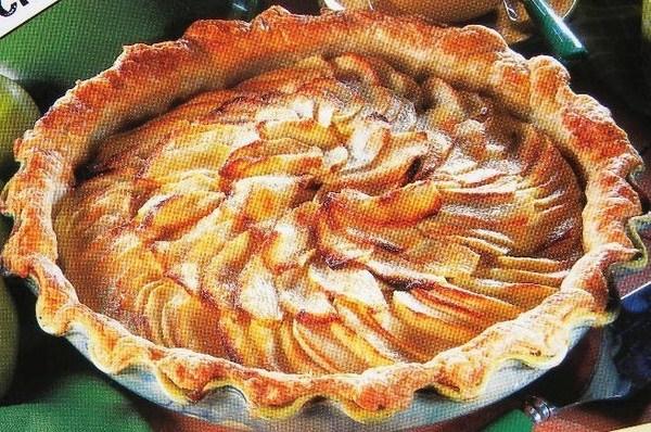 Fiche cuisine : Tarte fine aux pommes