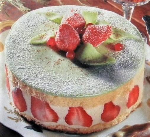 Fiche cuisine le fraisier p te d 39 amande for Decoration d un fraisier