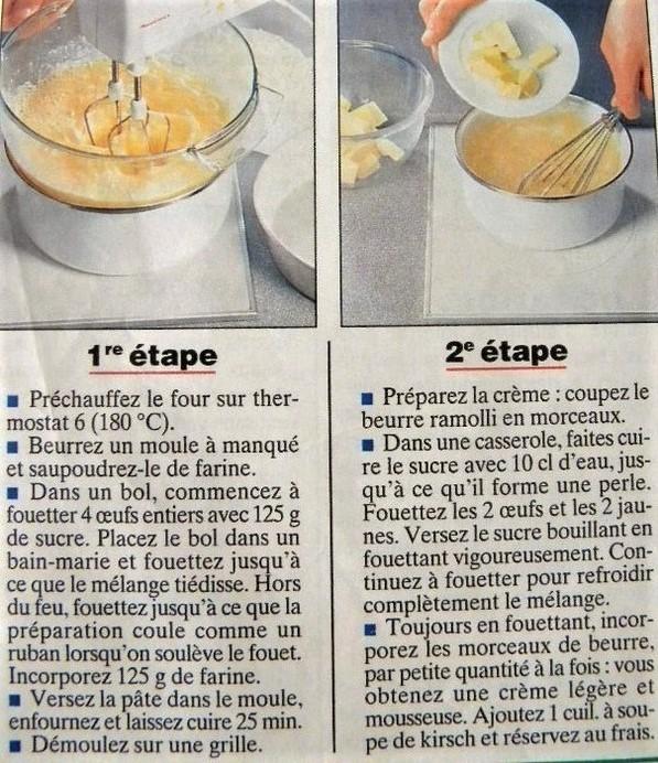 Fiche cuisine : Le Fraisier pâte d'amande !