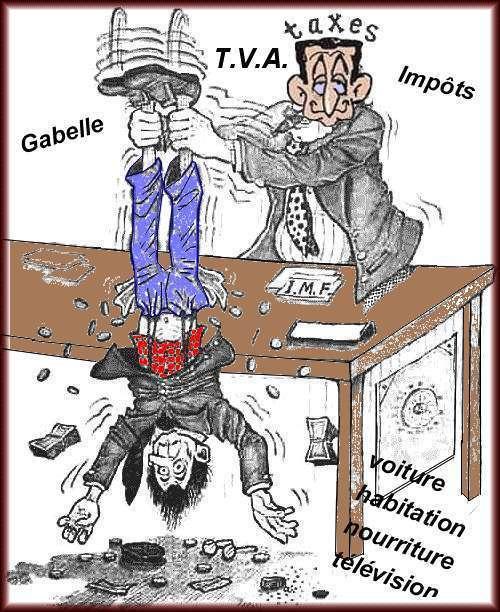 Dessins humoristiques Impôts et taxes !