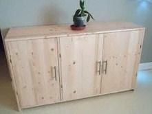 tutoriel comment fabriquer un meuble en sapin - Fabriquer Ses Meubles De Cuisine Soi Meme