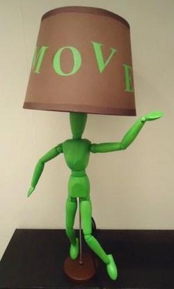 tutoriel comment fabriquer une lampe move. Black Bedroom Furniture Sets. Home Design Ideas