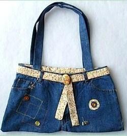 Tutoriel comment faire un sac en jean - Comment faire un organisateur de sac ...