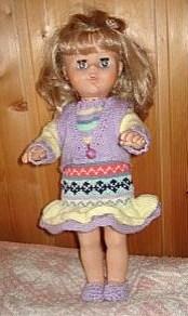 Tutoriel tricot : robe, gilet et chaussons pour poupée !