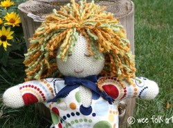 Tutoriel de la poupée Baby Doll Folk Art !