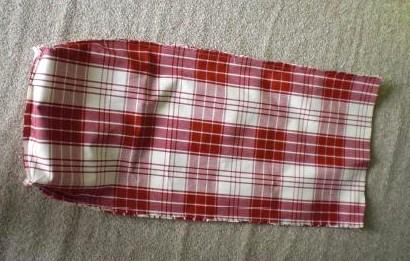 Tutoriel faire un sac à pain en tissu