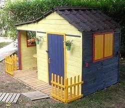Comment faire une cabane en bois !