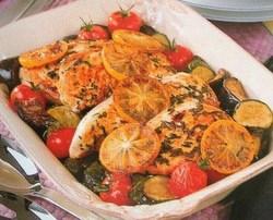 Fiche cuisine : Poulet à la méditerranéenne !