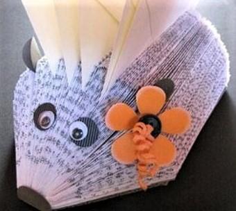 Comment faire un hérisson en papier !