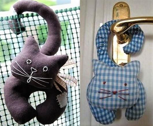 Faire un chat perché en tissu !
