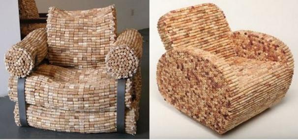 recyclez vos bouchons de li ge id es de recyclage. Black Bedroom Furniture Sets. Home Design Ideas
