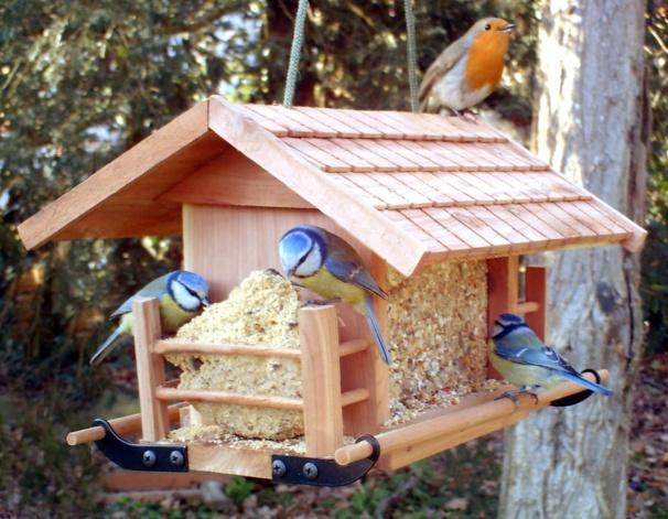 faire une mangeoire et un nichoir pour oiseaux. Black Bedroom Furniture Sets. Home Design Ideas