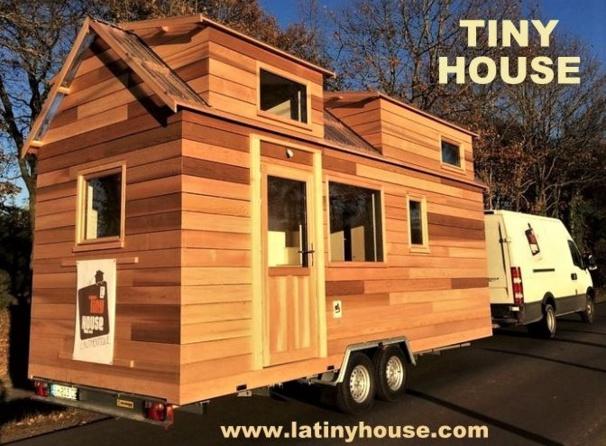 La Tiny House : petite maison roulante