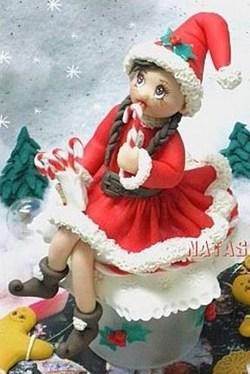 fille du père Noël